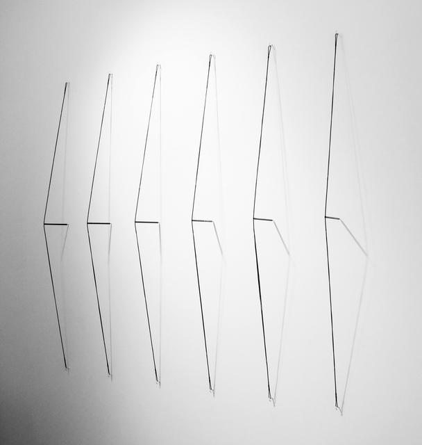 """, '""""Drawing Machine"""" (6 possible drawing points),' 2015, Josée Bienvenu"""