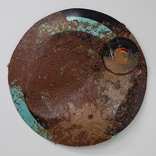 , 'Shield 8 (turqoise_black)  (Coffee Table Crate),' 2014, Galerie Parisa Kind
