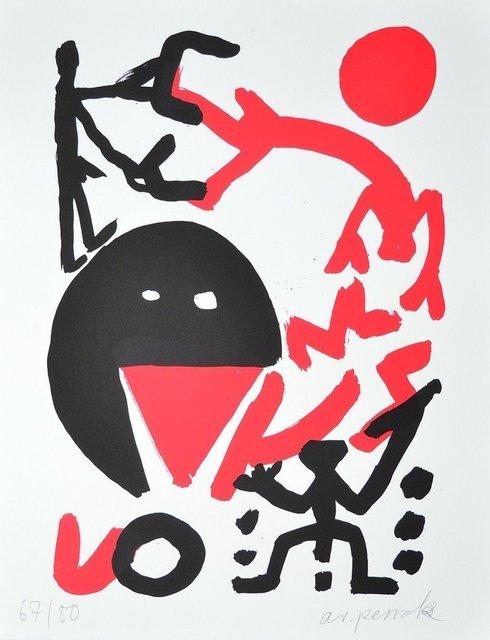 A.R. Penck, 'Grenzlinie', 1990-2000, ARTEDIO