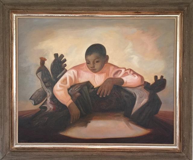 , 'Niño con cactus,' 1955, Galeria Enrique Guerrero