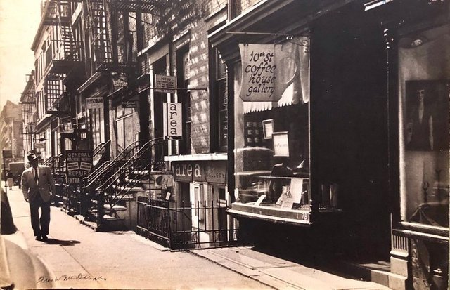 Fred McDarrah, 'Large Vintage Print Silver Gelatin Signed Photograph Greenwich Village New York',  1960-1969, Lions Gallery