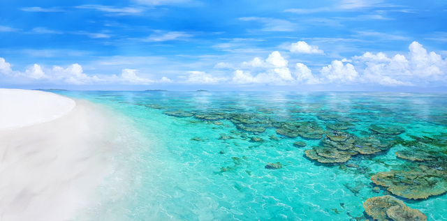 , 'Madoogali Island, Maldives,' 2016, REDSEA Gallery
