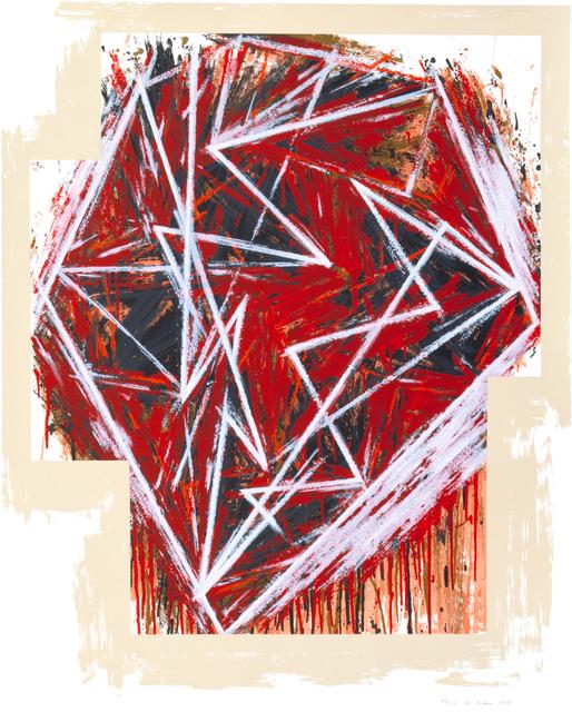 Mel Bochner, 'Untitled', 1984, Print, Serigraph, Lincoln Center Editions