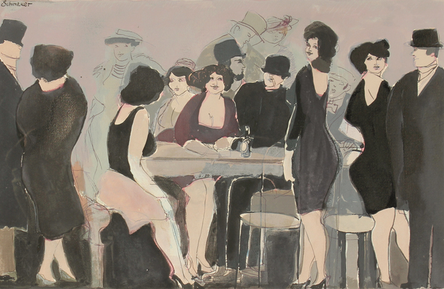 , 'Cafe Elysee,' , HOHMANN