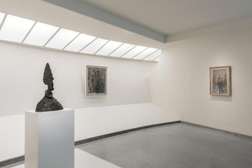 Installation view: Giacometti, Solomon R. Guggneheim Museum, New York, June 8–September 12, 2018 Photo: David Heald © Solomon R. Guggenheim Foundation, 2018