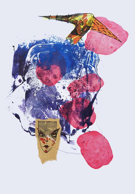 Frank David Valdés, 'Odysseus', 2017, Painting, Mixed media on paper, ArteMorfosis - Cuban Art Platform