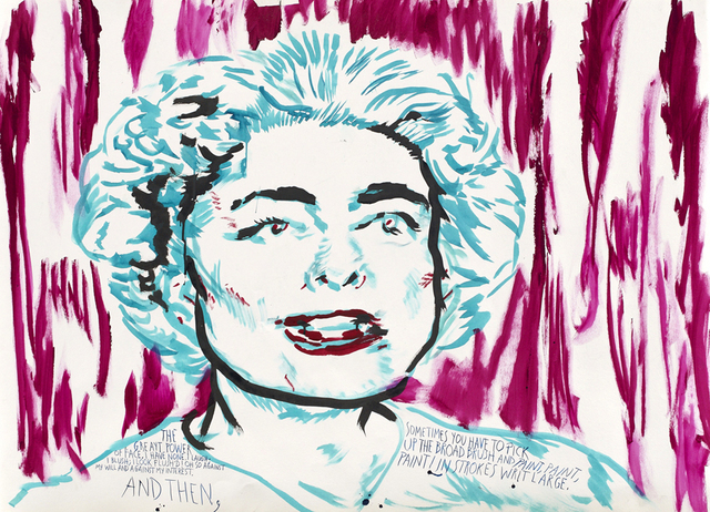 Raymond Pettibon, 'No Title (The greayt power...)', 2016, Sadie Coles HQ