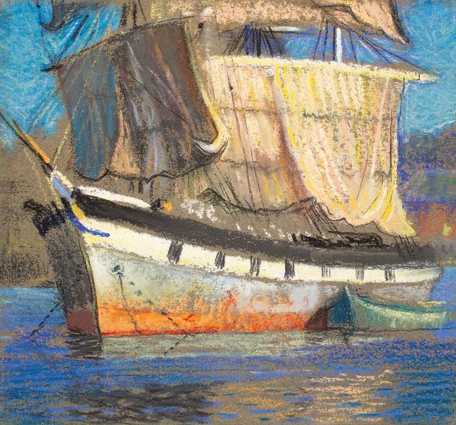 , 'ANCHORED SHIP,' , Jerald Melberg Gallery