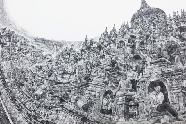 , 'Going to Buddha's House,' 2018, Mizuma Art Gallery