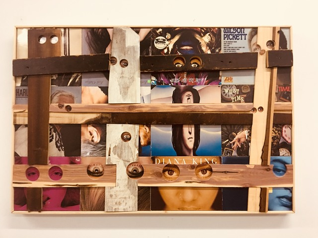 , 'Record Collection 7,' 2018, GALERIE GEORGES-PHILIPPE ET NATHALIE VALLOIS
