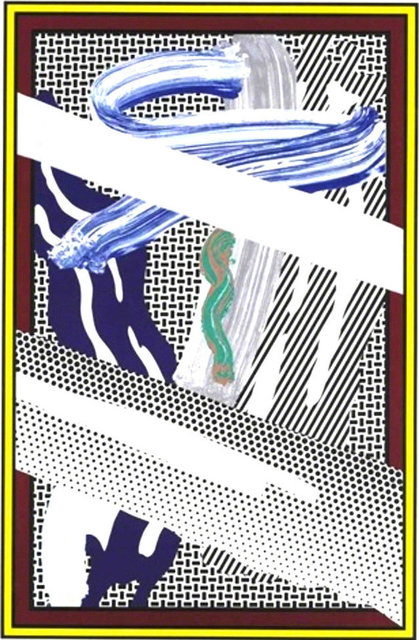 Roy Lichtenstein, 'Reflections on Expressionist Painting', 1990, Kings Wood Art