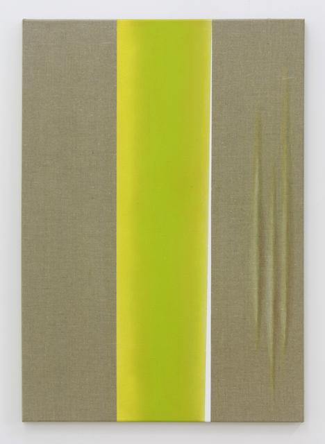 , 'Weißer Schlitz,' 2017, Galerie Heike Strelow