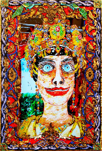, 'The Gift Of God (Empress Hagios Theodora -– Byzantium),' 2015, Postmasters Gallery