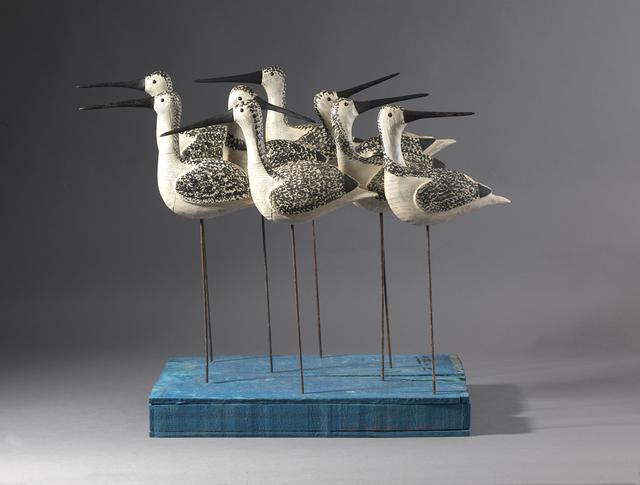 , 'Eight Shorebirds,' , Dowling Walsh