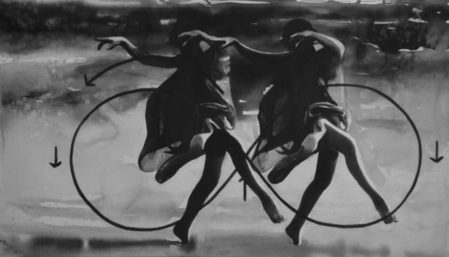 , 'Isadora Duncan is killed in a car accident in Nizza on September 14, 1927 in Nizza.,' 2017, Christine König Galerie