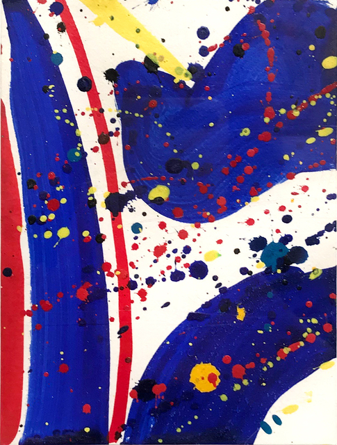 Sam Francis, 'Untitled (Pasadena Box)', 1963, Jim Kempner Fine Art