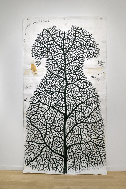 , 'Study for Leaf Dress,' 1994, De Luca Fine Art Gallery