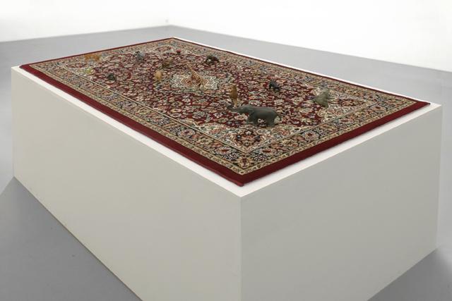 , 'Orientalischer-Teppich,' , Galleria Massimo Minini