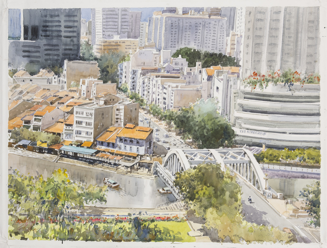 , 'Elgin Bridge, Singapore,' 2014, Ode to Art