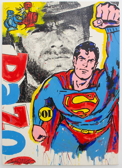 John Stango, 'Superman Clint Eastwood', ca. 2018, The Compound Gallery