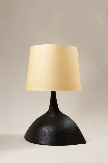 , 'A black finish ceramic lamp,' 1969, Galerie Anne-Sophie Duval
