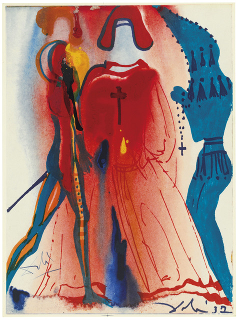 Salvador Dalí, 'William Shakespeare: Romeo e Giulietta', 1975, Print, The complete book of ten offset lithographs with screenprint in colours with an additional suite, Christie's
