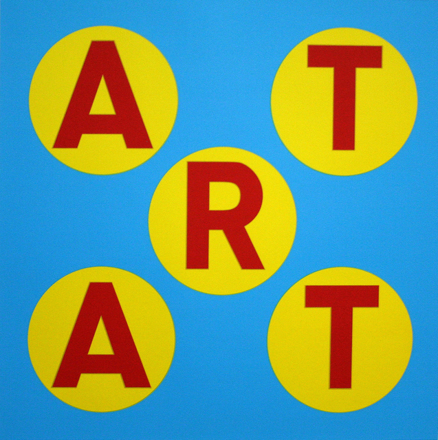 , 'ART (Red/Blue/Yellow) - Unique,' 2013, Contini Art UK