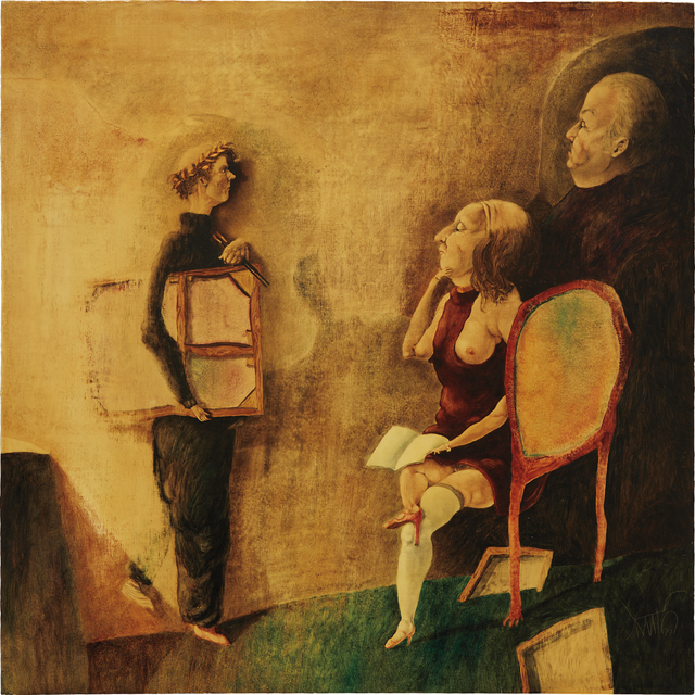Benjamín Cañas, 'The Critics', 1977, Phillips