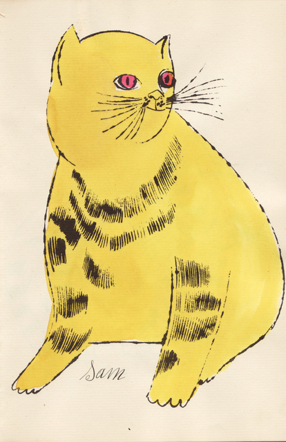 , '(Yellow Sam with Red Eyes),' ca. 1954, Sims Reed Gallery