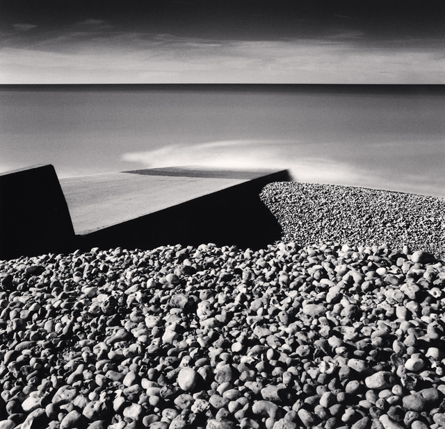 Michael Kenna, 'PEBBLE BEACH, AULT, PICARDY, FRANCE, 2009', 2009, Huxley-Parlour