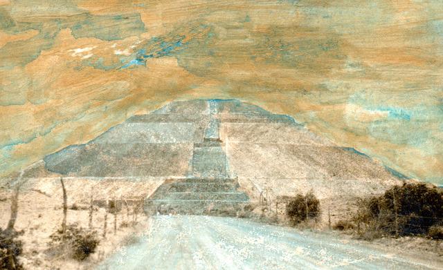 , 'Variaciones sobre la Pirámide del Sol No. 6,' 2018, Patricia Conde Galería
