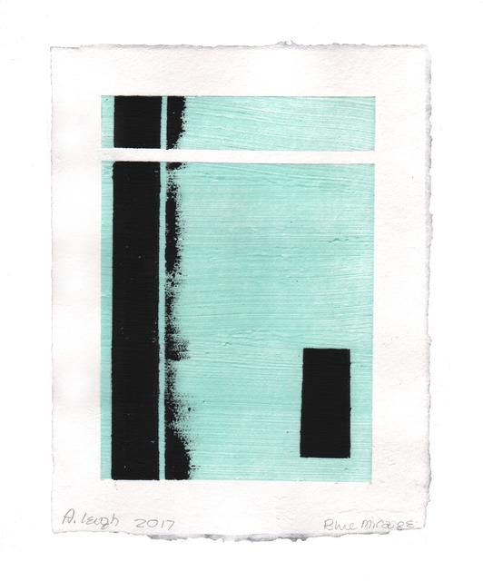 Abby Leigh, 'Blue Mirage (Don't Go)', 2017, Dieu Donné Benefit Auction
