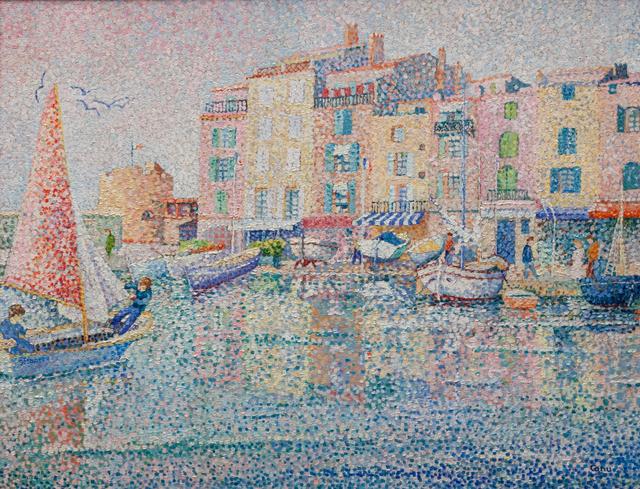 Yvonne Canu, 'Saint-Tropez au cochant', 1930-1970, Artrust