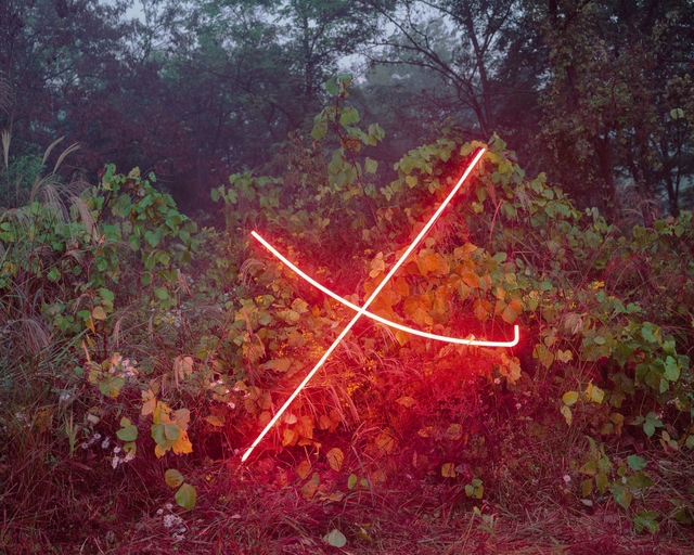 , 'X,' 2015, ONE AND J. Gallery