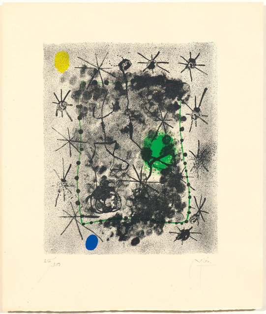 Joan Miró, 'From: Constellations', 1959, Print, Colour lithograph, Koller Auctions