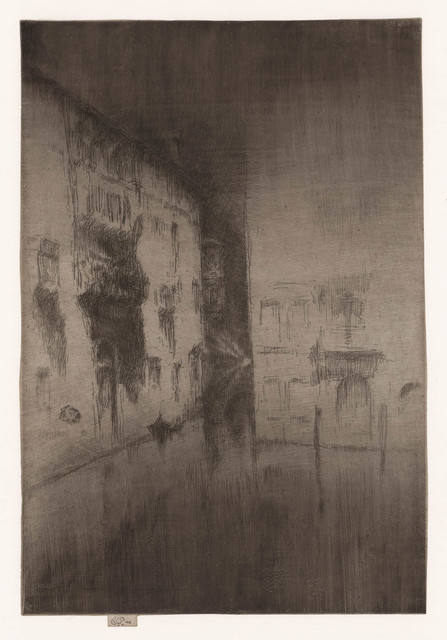 , 'Nocturne Palaces.,' 1879, The Old Print Shop, Inc.
