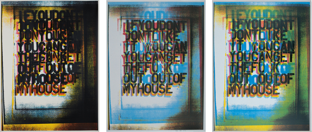, 'My House I; My House II; My House III,' 2000, ARCHEUS/POST-MODERN
