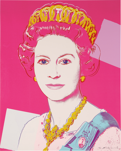 Andy Warhol, 'Queen Elizabeth II of the United Kingdom, from Reigning Queens', 1985, Phillips