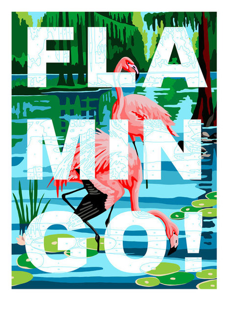 Benjamin Thomas Taylor, 'Flamingo ', 2019, Samuel Owen Gallery