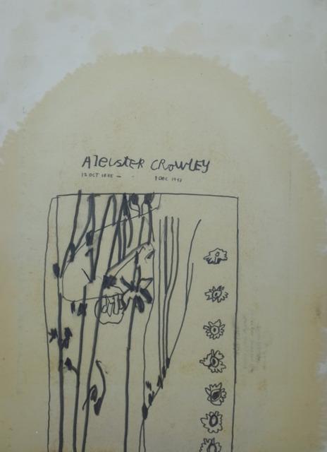 , 'Aleister Crowley,' 2017, Vardaxoglou
