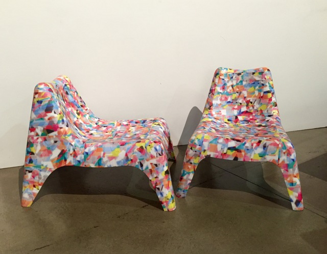 , 'Chairs from Don't Hold On To Your Bones,' 2015, Hyde Park Art Center
