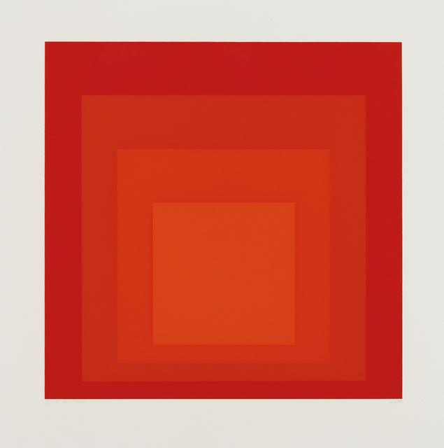 Josef Albers, 'I-S a', 1968, Phillips