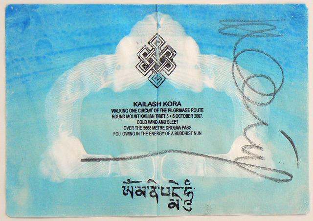 Hamish Fulton, 'Kailash Kora. Tibet 2007', 2007, Rhona Hoffman Gallery