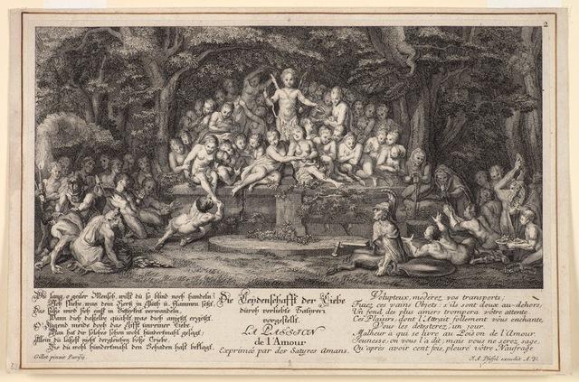 , 'Satyrs,' , Emanuel von Baeyer