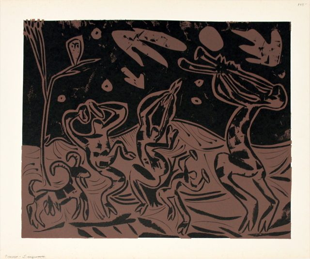 Pablo Picasso, 'Les Danseurs au Hibou', 1962, ArtWise