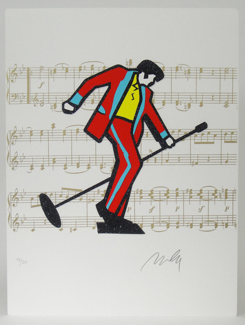 Marco Lodola, ' Elvis Presley', 2000, La Maison de la Petite Sara