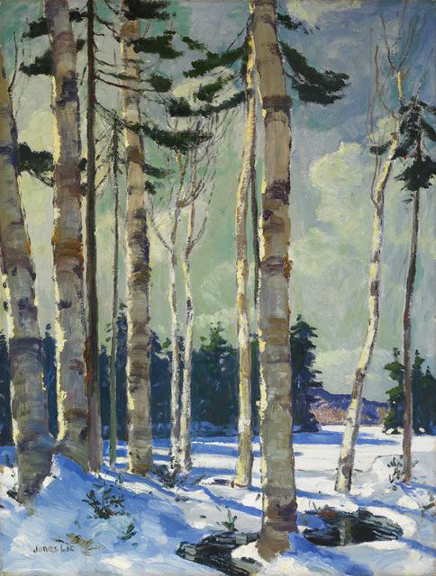 , 'Winter Birches,' , Avery Galleries
