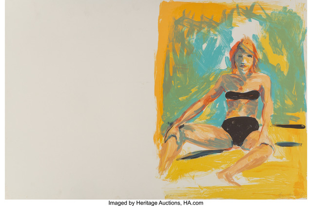 Eric Fischl, 'Annie, Gwen, Lilly, Pam, and Tulip (bikini girl)', 1986, Heritage Auctions