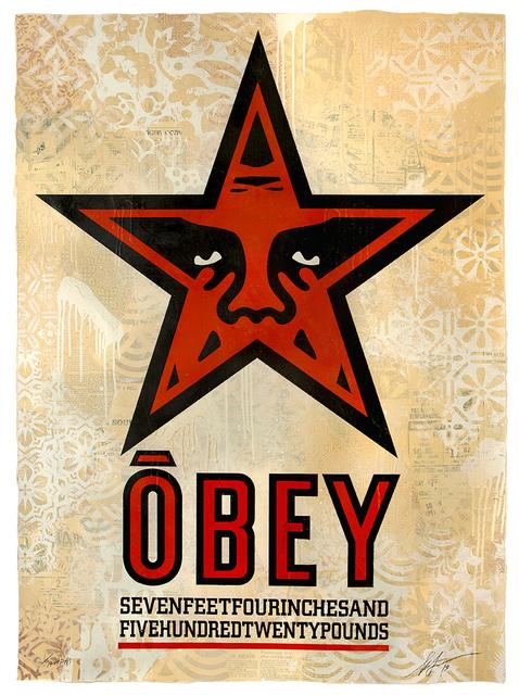 Shepard Fairey, 'ODEY Star ', 2019, Samuel Owen Gallery