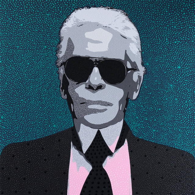 , 'Karl Lagerfeld,' 2019, HG Contemporary
